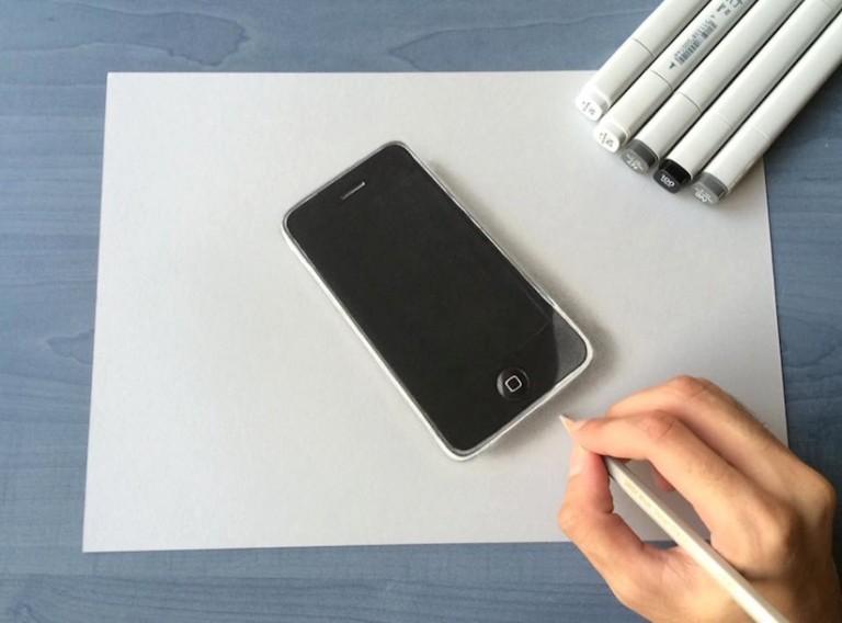 Sushant Rane iPhone 3D Art
