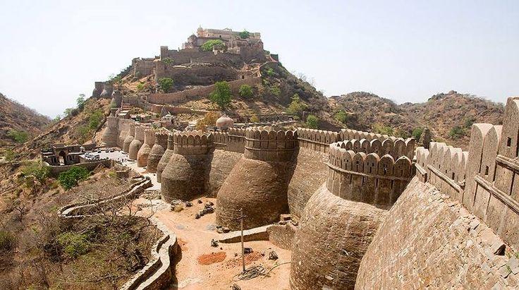 World's 2nd Largest Wall at Kumbhalgarh Fort