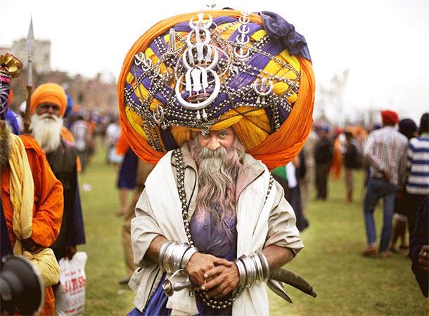 Avtar Singh Mauni - India's Turban Man with World's Heaviest Turban