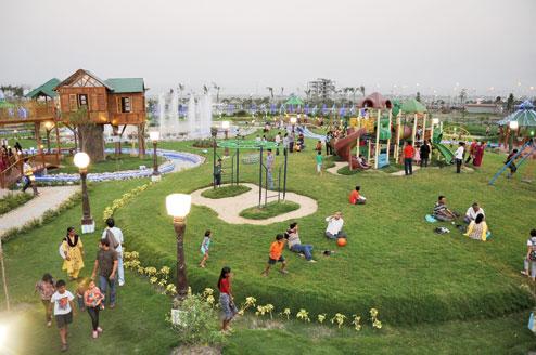 Eco Tourism Park, Newtown, Kolkata New Year Party