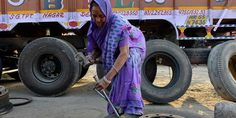 Shanti Devi Truck Mechanic