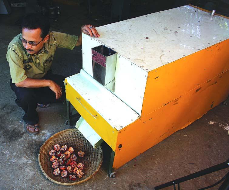 Uddhab Bharali's Pomegranate Deseeder