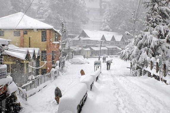 Almora Snowfall