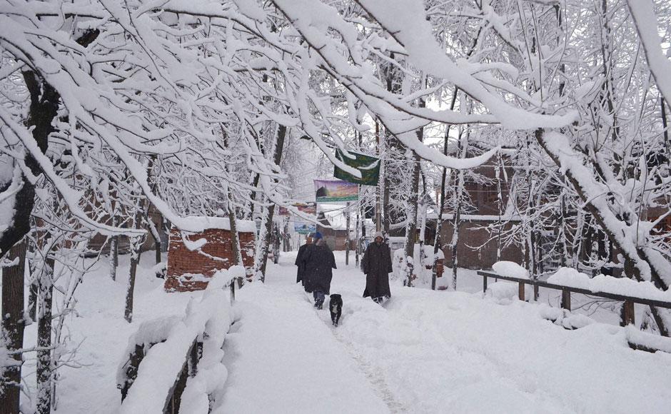 Anantnag Snowfall
