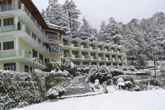 Harsil Snowfall