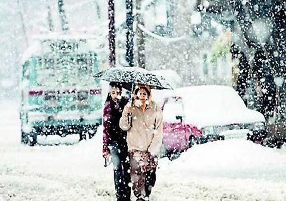 Kargil Snowfall