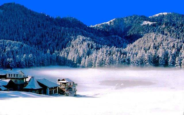 Khajjiar Snowfall