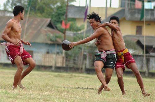 Yubi Lakpi - Traditional & Unique Manipuri Rugby