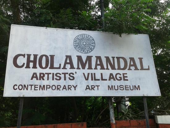 Cholamandalam Artist's village