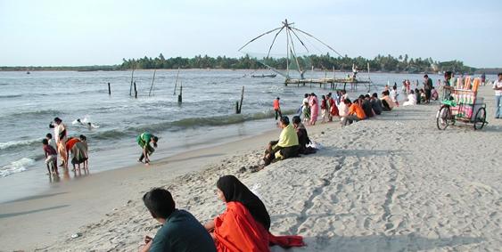 Fort Kochi Beach, Kochi