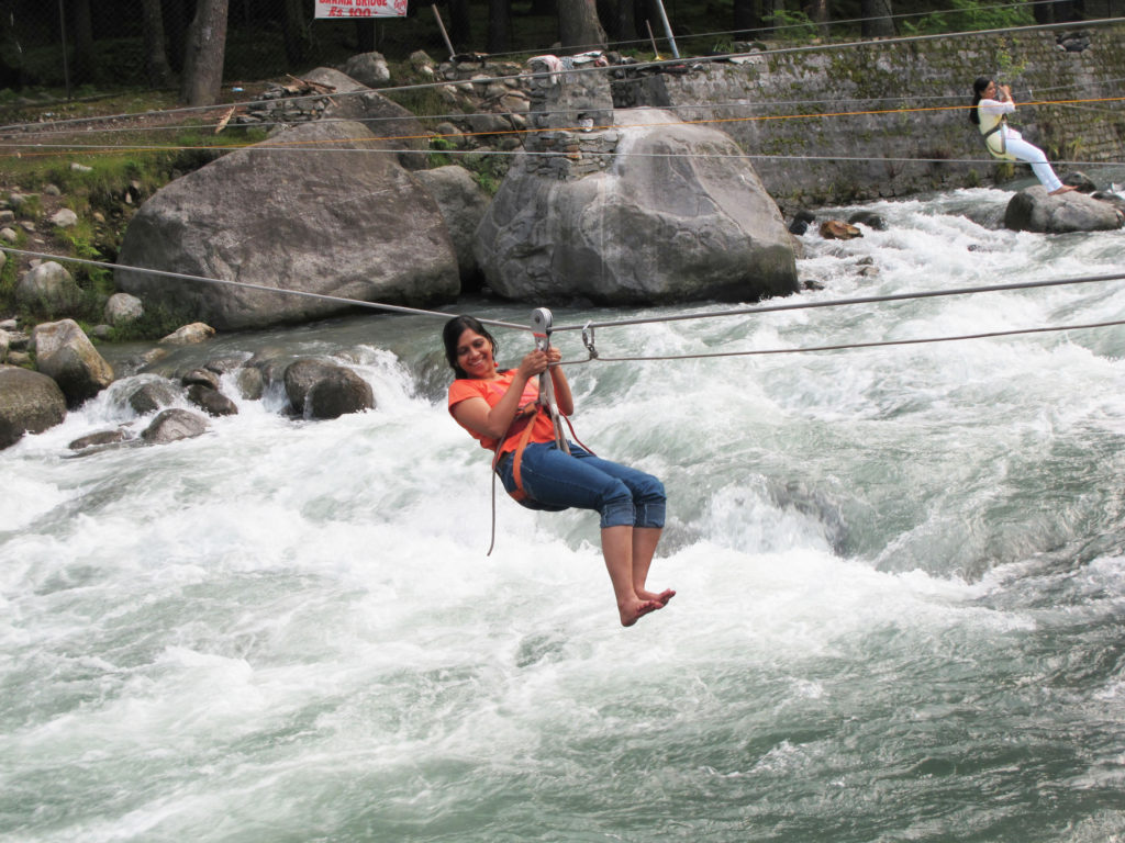 River Crossing in Manali