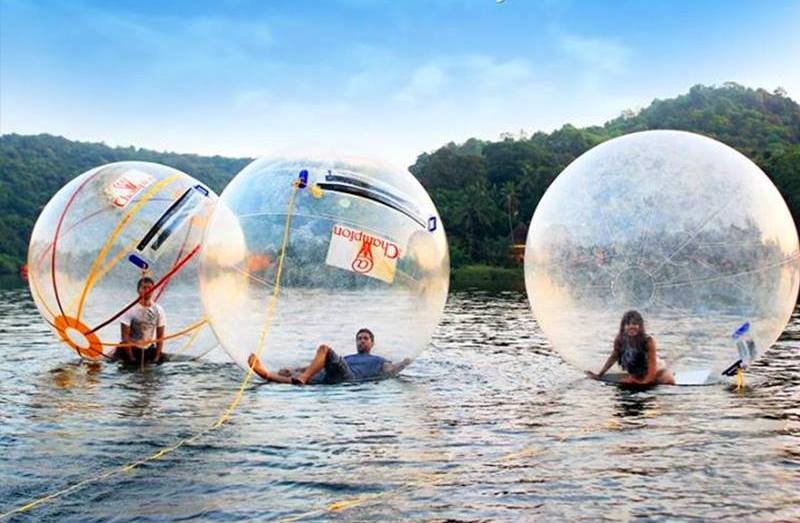 Water Zorbing in Goa