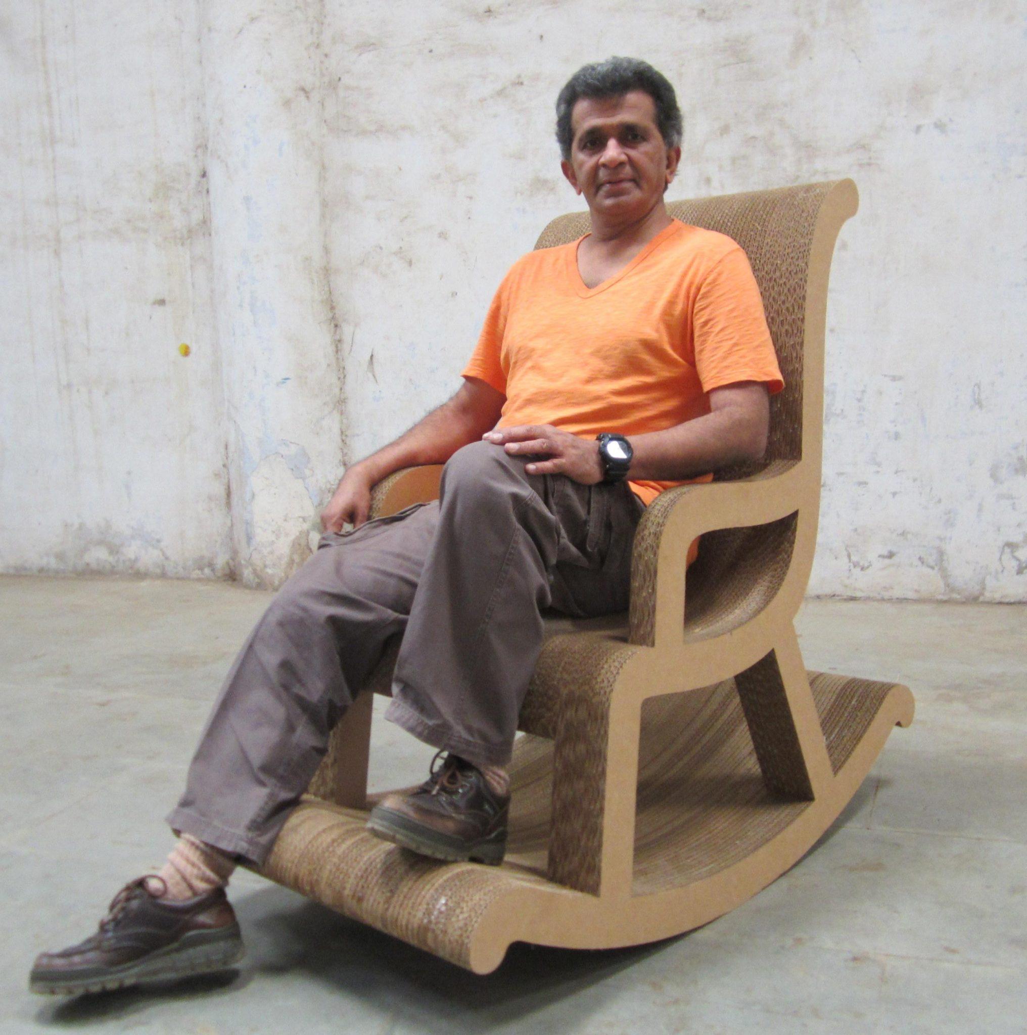 Haresh Mehta's Cardboard Furniture