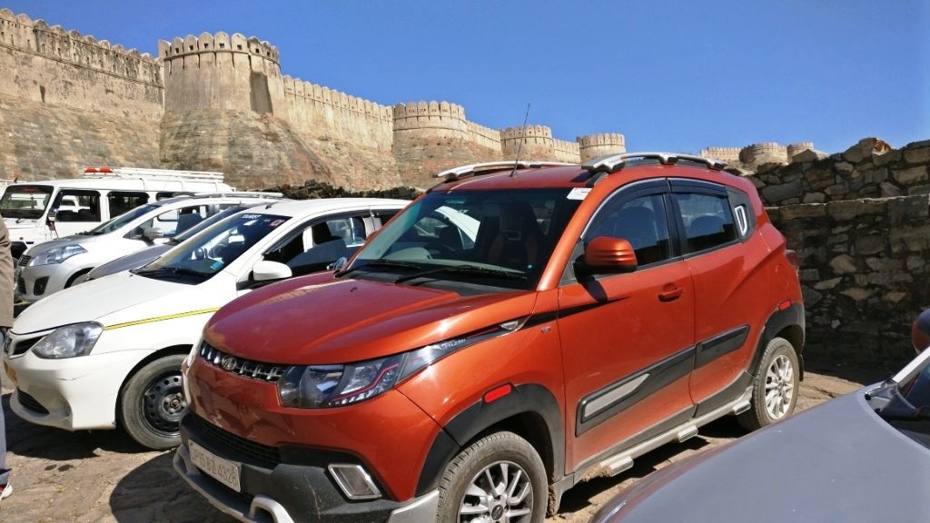 Kumbhalgarh Fort Parking