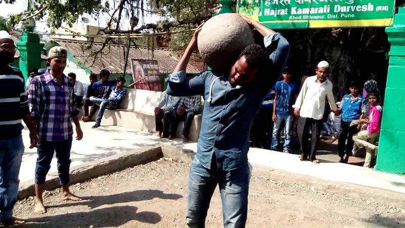 Levitating Stone of Shivapur, Maharashtra