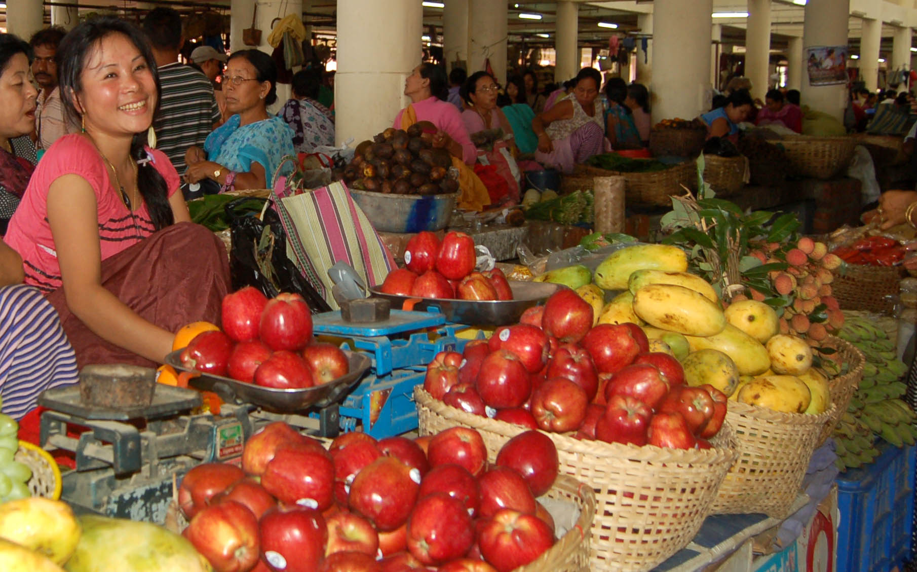Mother's Market – A 500 years old 'Women Only' Market in Imphal, Manipur
