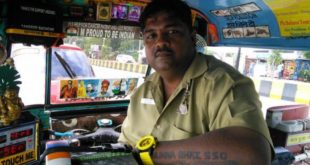 Sandeep Bacche's Wonder Auto Rickshaw at Mumbai