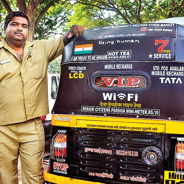 Sandeep Bachhe Auto Driver
