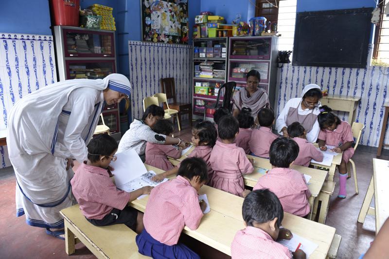 Sishu Bhawan of Missionaries of Charity
