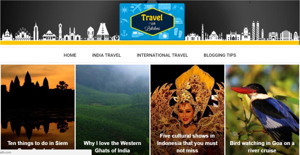Lakshmisharath.com on a Journey