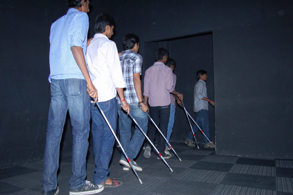 Dialogue in the Dark, Inorbit Mall, Hyderabad