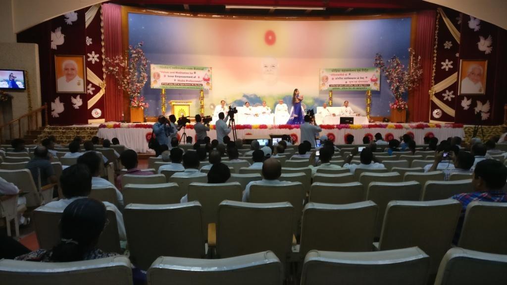 Gyan Sarovar,Mount Abu Media Conference