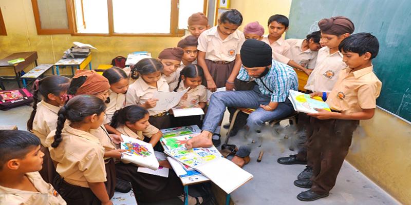 Jagwinder Singh - Armless Arts Teacher