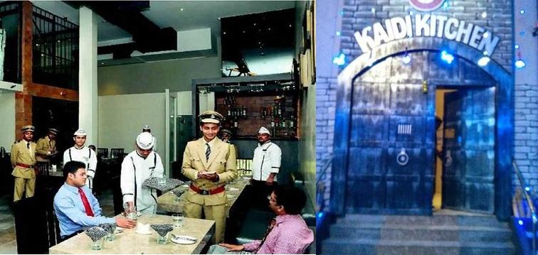 Kaidi Kitchen - A Restaurant in Chennai based on Prison Theme
