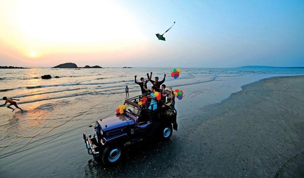 A birthday drive at Muzhappilangad Beach