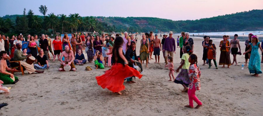 A mini Goa Party at Gokarna
