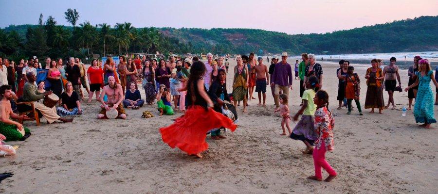 A mini Goa Party at Gokarna