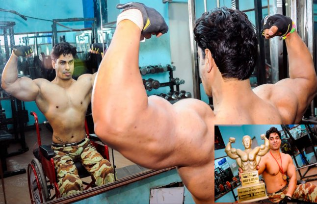 Anand Arnold - India's First Wheelchair Bodybuilder