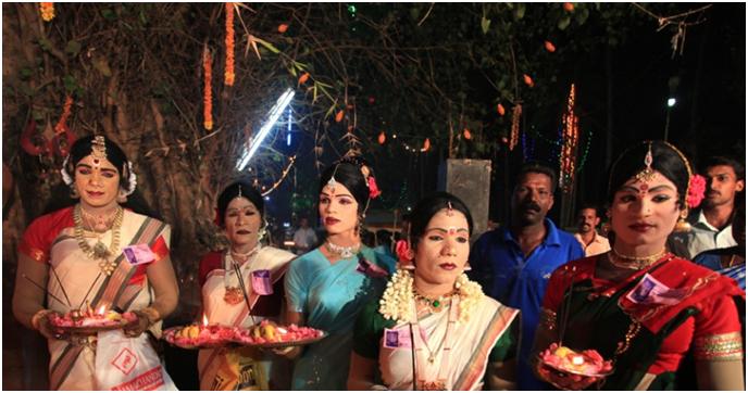 Chamayavilakku - India's Cross Dressing Festival