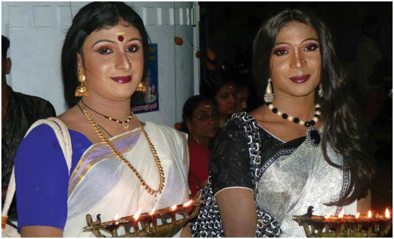 Chamayavilakku - Kerala's Cross Dressing Festival