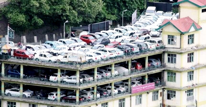 Government Parking in Shimla