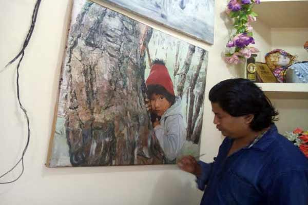 Mukesh Thapa - The Man Who Paints With a Single Strand of Hair!