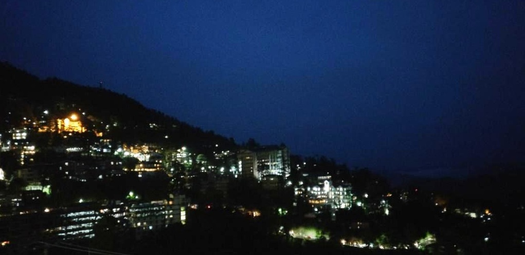 Night View of Shimla