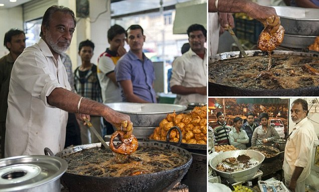 Prem Singh - Indian Cook who can fry with bare hands