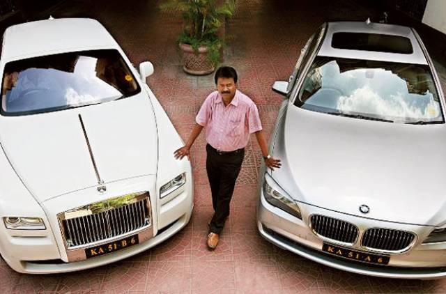 Ramesh Babu - The Barber who owns a Rolls Royce