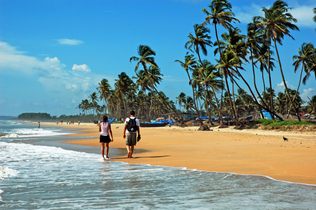 The beaches of Goa
