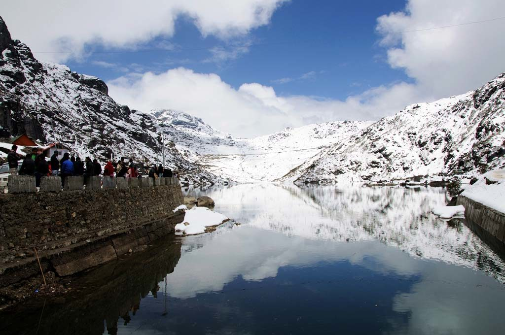 Tsomho Lake, North Sikkim