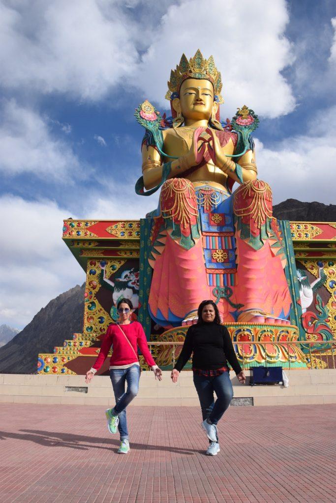 Diskit Monastery Buddha Statue
