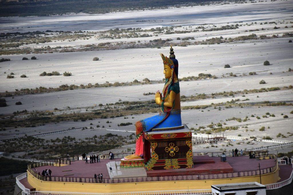 Maitreya Buddha Statue, Diskit Monastery, Nubra Valley