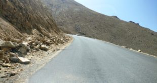 Road Map from Leh to Nubra Valley