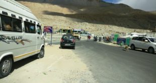 Road Map from Leh to Pangong Lake