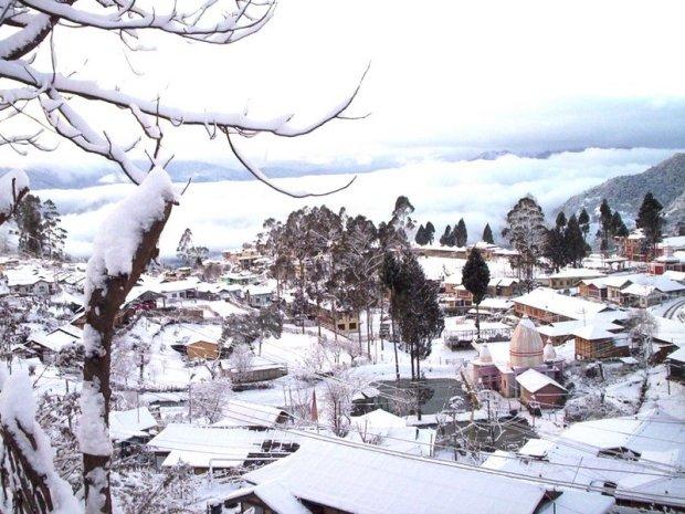 Bomdila Snowfall