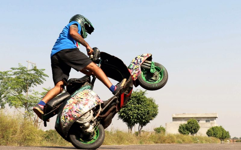 Dinesh Verma - India's Only Scooter Stuntman