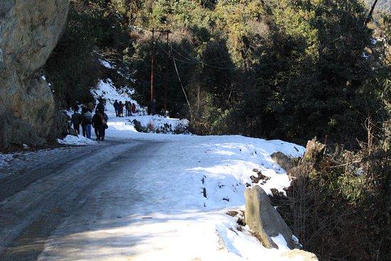 Mayodiya Pass snowfall