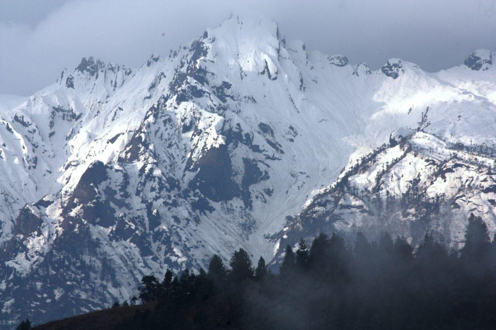 Mechuka Snowfall