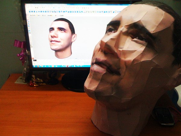 Mohit Lakhmani Barrack Obama Sculpture